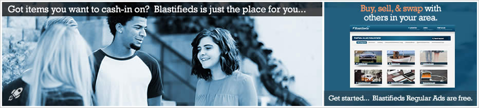Blastifieds... Finally an all-new Person-to-Person Marketplace made just for you