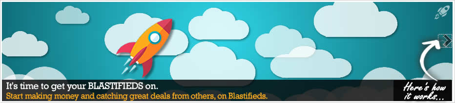 Blastifieds - Buy, Sell, and Swap with others in your area!
